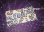Large zippered pouch