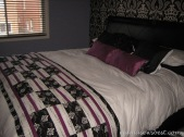Quilted bed topper