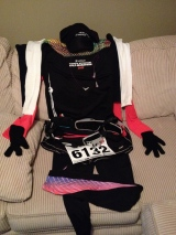 My race day outfit.
