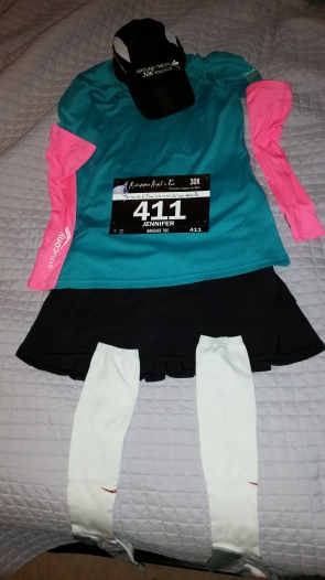 Flat Jenn ready to run