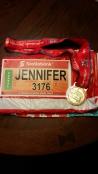 First marathon complete.